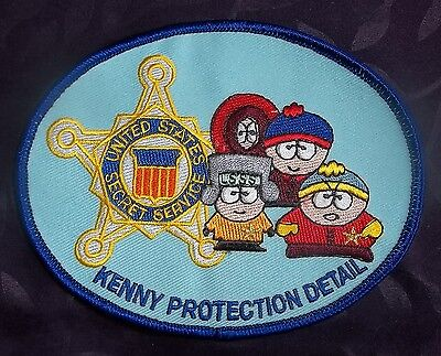 South Park Patch Embroidered Comedy Central You Killed Kenny