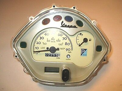 VESPA PIAGGIO LX150 INSTRUMENT PANEL SPEEDOMETER 2009 09 LX 150 639298 kc