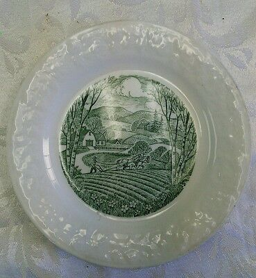 Vintage Homer Laughlin china Pastoral bread and butter plate