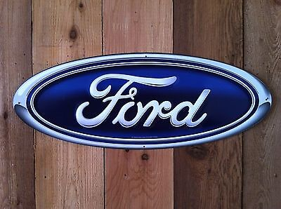 Ford Oval Tin Sign-USA items ships from Sumas WA