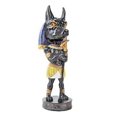 "Anubis Ancient Egyptian Afterlife God Bobblehead Figurine  3"" - New"