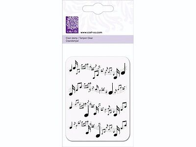 Acrylstempel Note Musiknoten Clear-Stamps Silikon Stempel cArt-Us