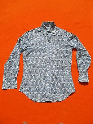 ST MICHAEL Chemise Shirt Camisa True Vintage Made in Britain Glamour Soul Coton