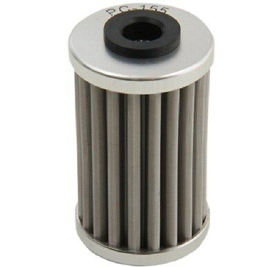 PC Racing Flo Stainless Steel Spin On Oil Filter PC155 PC-155