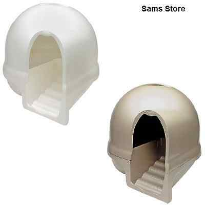 Cat Litter Box Innovative Dome Steps Toilet Large Breeds Ativated Carbon Filter