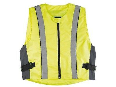 Germas High visibility vest Gr 4XL Motorcycle Safety safety vest flap free