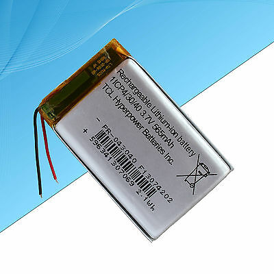 Rechargeable Polymer Lithium Battery For Electronic Devices 565 mAh / 3.7V