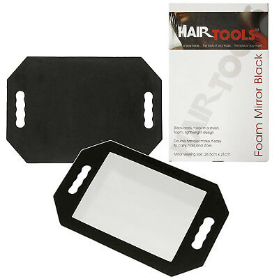 Hair Dressing Salon Mirror,Hair tools Foam Mirror Black Hairdressing Mirror