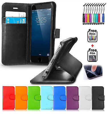 Smart FLIP LEATHER Mobile Phone WALLET Stand Case COVER FOR Apple iPhone 5/5S