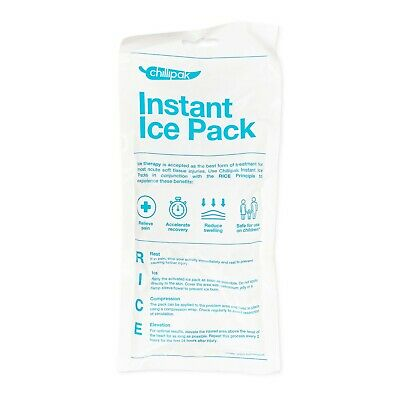 Koolpak Instant Ice Packs 20 Sports Injury Pain Relief First Aid Cold Compress