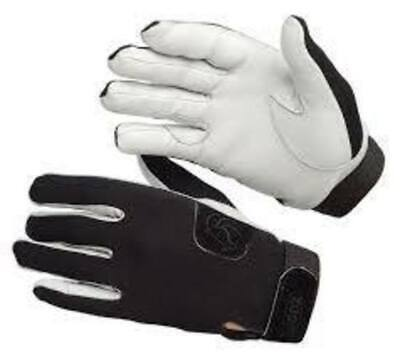 Zilco Jodz Tacky Gloves Tackified horse bike jockey track endurance riders Small