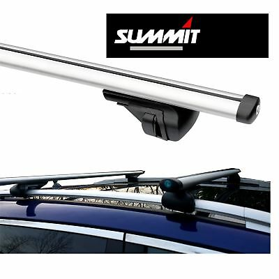 Roof Bars Rack Aluminium Locking Cross Rails fits Volkwagen VW Touran 2003-2013