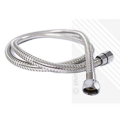 Stainless Steel Chrome Shower Hose | 1.25m Universal *Replaces Grohe Mira Triton