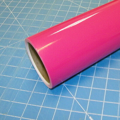 "Pink Oracal 651 (1) Roll 12"" X 10' Sign Cutting Vinyl"