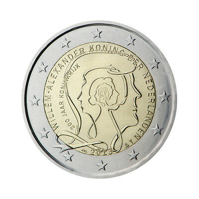 """Netherlands 2 euro commemorative coin 2013 """"200 years of Kingdom"""" - UNC"""