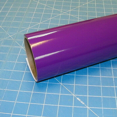 "Violet Oracal 651 (1) Roll 12"" X 10' Sign Cutting Vinyl"