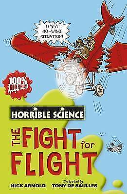 Fearsome Fight for Flight (Horrible Science), New, Nick Arnold Book