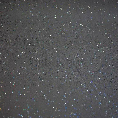 Glittery Glitter  Slate Grey  Vinyl Wipe Clean Pvc Tablecloth