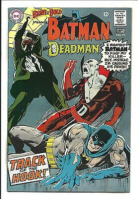 BRAVE AND THE BOLD # 79 (BATMAN & DEADMAN, NEAL ADAMS Art, SEPT 1968), VF