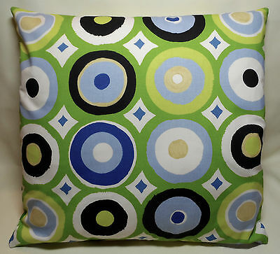 Handmade cushion cover for a child's bedroom or playroom. To fit an 18 inch pad.