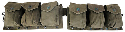 Korean War Vintage B.A.R. Magazine Belt