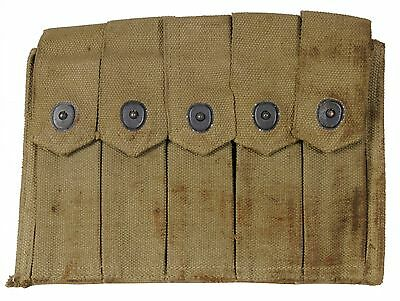 WW-11 Thompson 5 cell magazine pouch