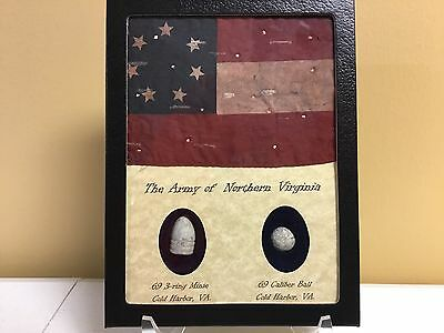 The Army of Northern Virginia Two Piece Bullet and Flag Set