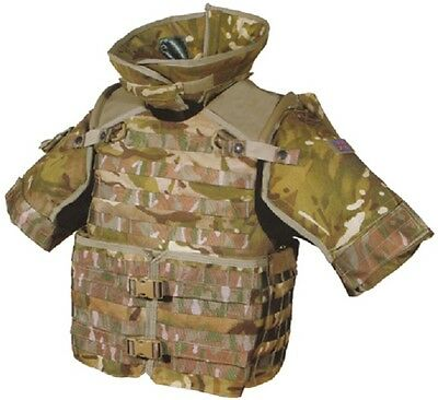 British Army Osprey MK IV ISAF MTP Multicam Body Armour Carrier Waistcoat Vest