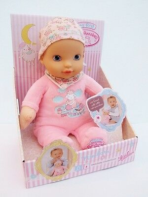 My First Baby Annabell Newborn Girl 1st Soft Doll From