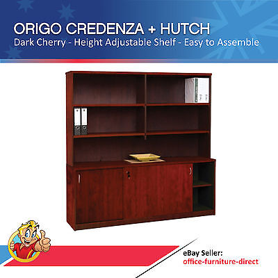 Origo Office Credenza with Storage Shelving, Office Furniture, Study Storage