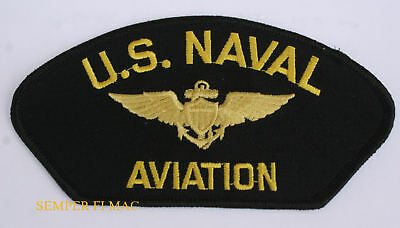 Us Naval Aviation Hat Patch Uss Navy Pilot Crew Wing Topgun Pin Up Gift Usn Wow
