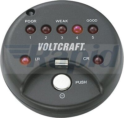 Voltcraft 250455 Button Cell Tester