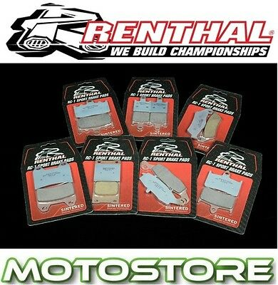 Renthal Rc-1 Sintered Front Brake Pads Fits Yamaha Tdm900 2002-2013