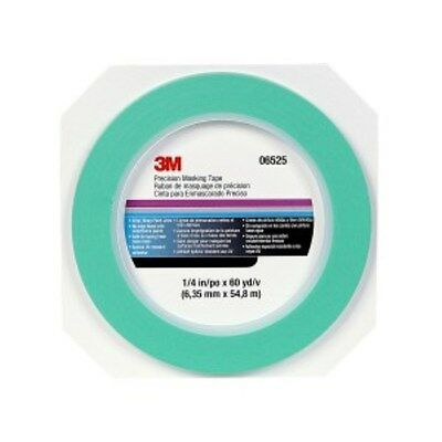 "3M Precision Masking Tape 1/4"" x 60 yards 06525 strong ultra-thin ultra smooth"