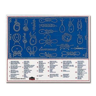 Sticker 15 X 20 Cm In Three Languages Nautical Knots & Boating Accessories