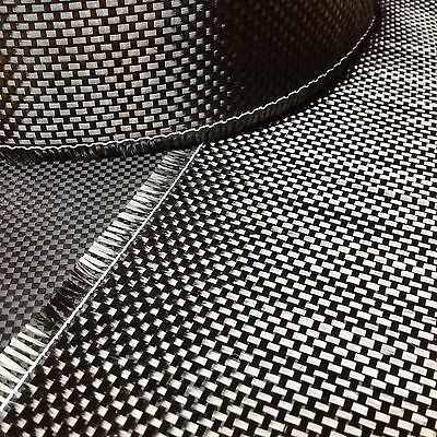Carbon Fiber Cloth Fabric Plain Weave 3k 5.6oz/160gsm TAPE 4""
