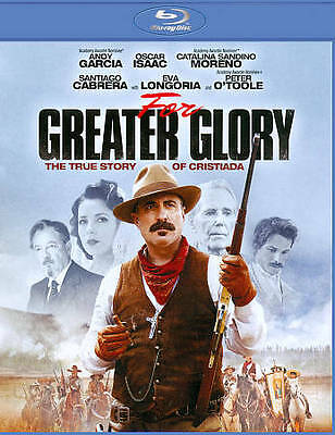 For Greater Glory (Blu-ray Disc, 2012) Andy Garcia BRAND NEW Cristero War