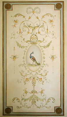 Versailles Grand Panel Wall Stencil - LARGE - Elegant French Decor Wall Design