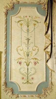 Marie Antoinette Side Panel Wall Stencil - LARGE - DIY French Panel Wall Designs