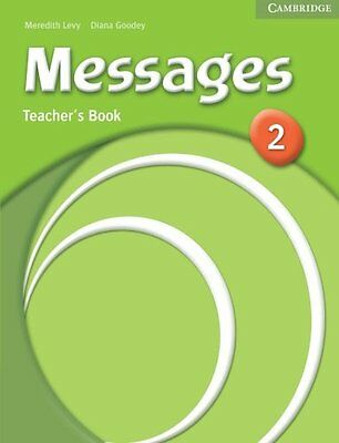 Messages 2 Teacher's Book By Meredith Levy