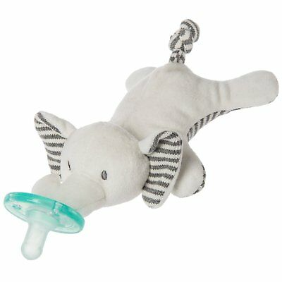 Mary Meyer WubbaNub Infant Newborn Baby Soothie Pacifier ~ Afrique Elephant