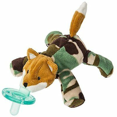 New Mary Meyer Wubbanub Infant Baby Soothie Pacifier ~ Camo Fox