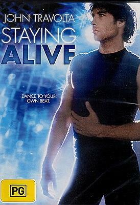 Staying Alive - John Travolta Cynthia Roberts Drama New Dvd Movie Sealed