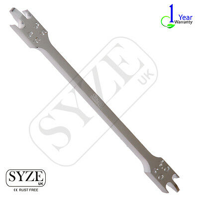 SYZE Bracket Positioning Height Gauge 0.22 Wick Type Orthodontic Lab Tools UK CE