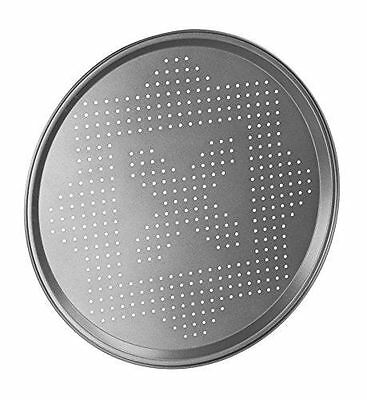 Pizza Pan 30cm Non-Stick Baking Round Oven Vented Crisper Dish Coating Holes