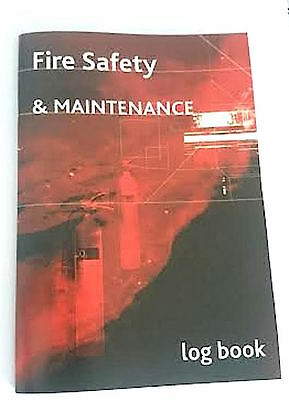 Fire log book A5  safety and maintenance book FREE DELIVERY