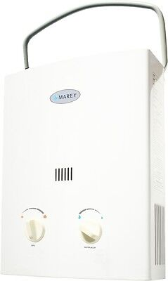 Tankless Hot Water Heater RV Camper Portable Propane Gas 2 GPM Marey