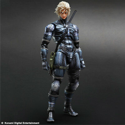 Metal Gear Solid 2 Sons of Liberty Play Arts KAI Actionfigur: Raiden