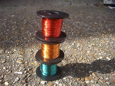 Radio Shack Style Enamel Coated Copper Magnet Wire In Colours