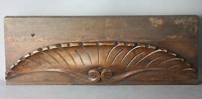 French Architectural Carved Wood Pediment